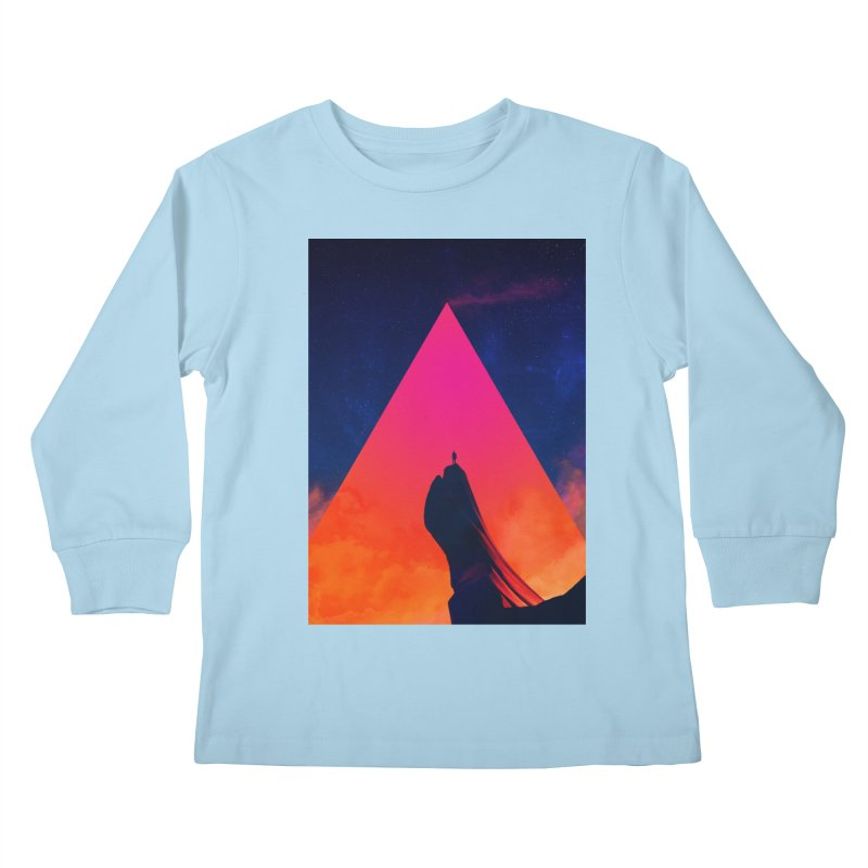 Gilgamesh Kids Longsleeve T-Shirt by Adam Priesters Shop