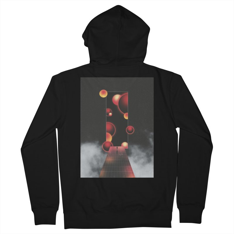 Void Vibes Only Women's French Terry Zip-Up Hoody by Adam Priesters Shop