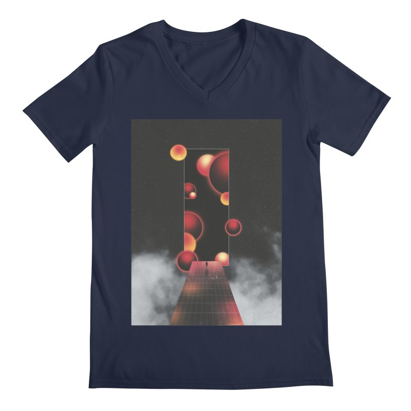 Void Vibes Only Men's Regular V-Neck by Adam Priesters Shop