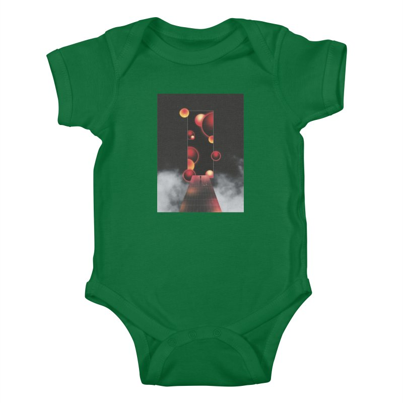 Void Vibes Only Kids Baby Bodysuit by Adam Priesters Shop