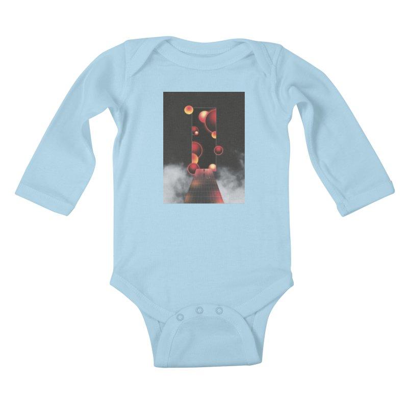 Void Vibes Only Kids Baby Longsleeve Bodysuit by Adam Priesters Shop