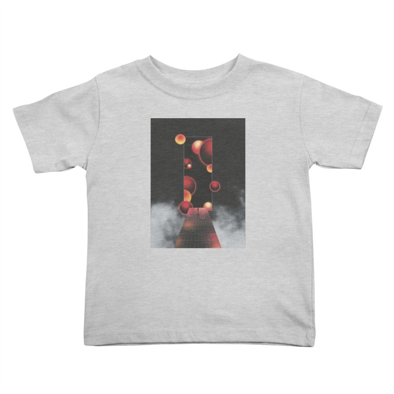 Void Vibes Only Kids Toddler T-Shirt by Adam Priesters Shop