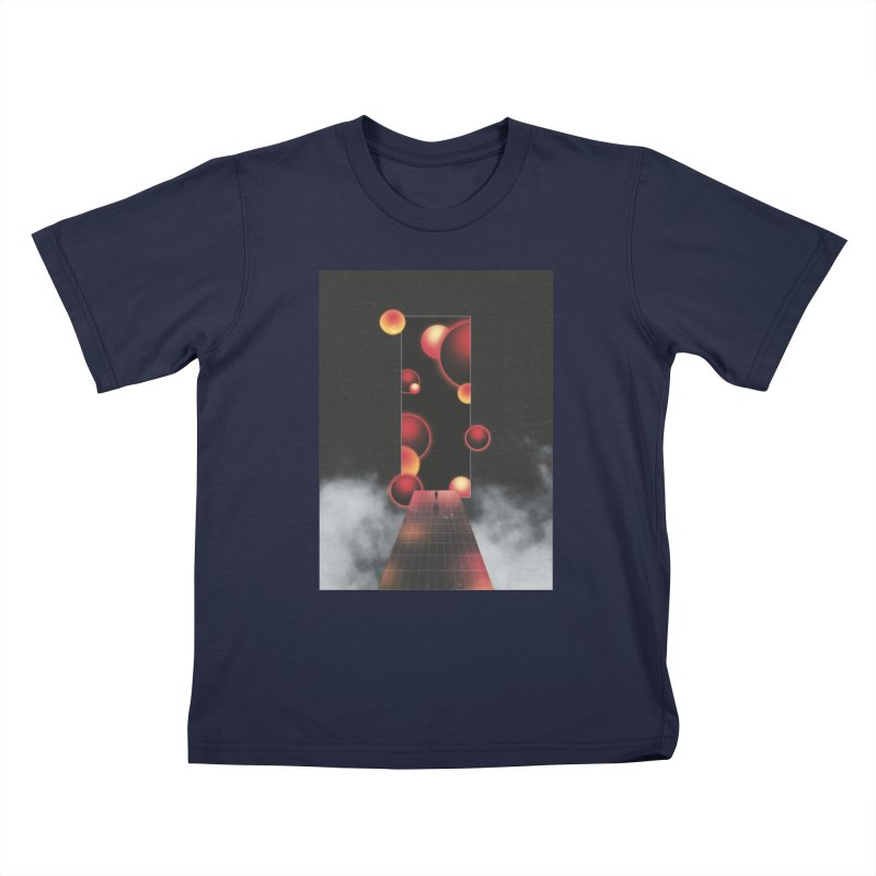 Void Vibes Only Kids T-Shirt by Adam Priesters Shop