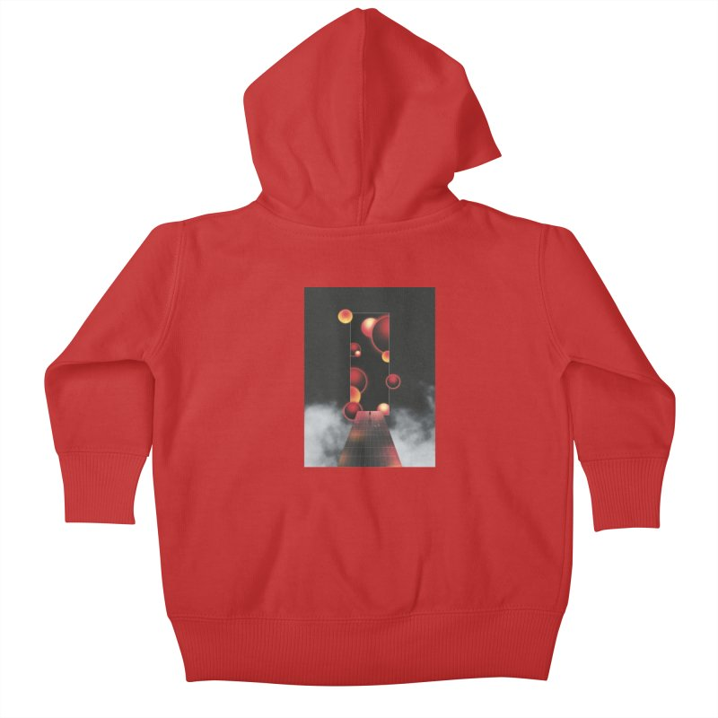 Void Vibes Only Kids Baby Zip-Up Hoody by Adam Priesters Shop