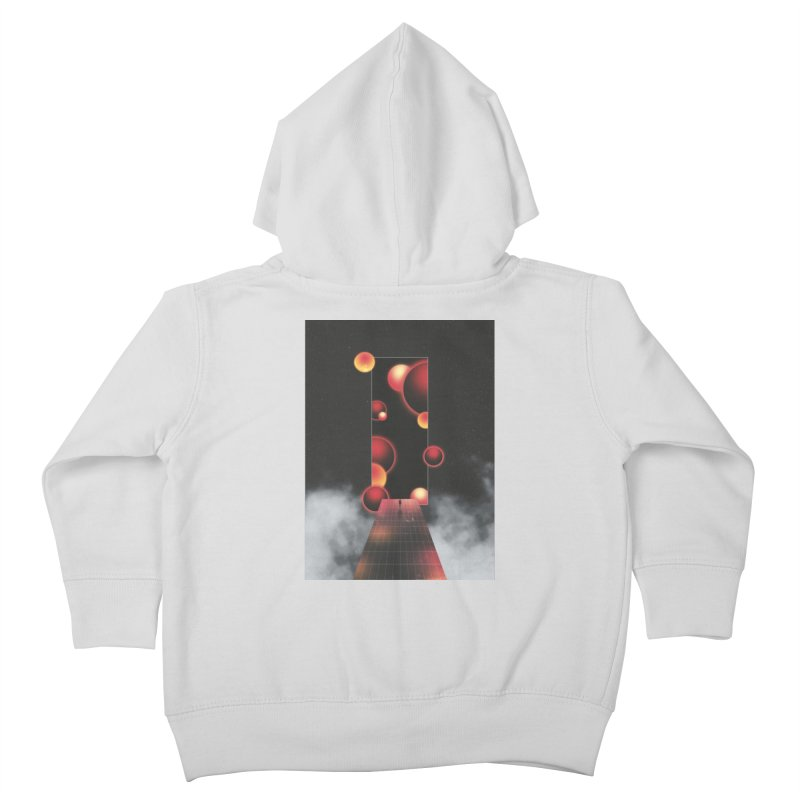 Void Vibes Only Kids Toddler Zip-Up Hoody by Adam Priesters Shop