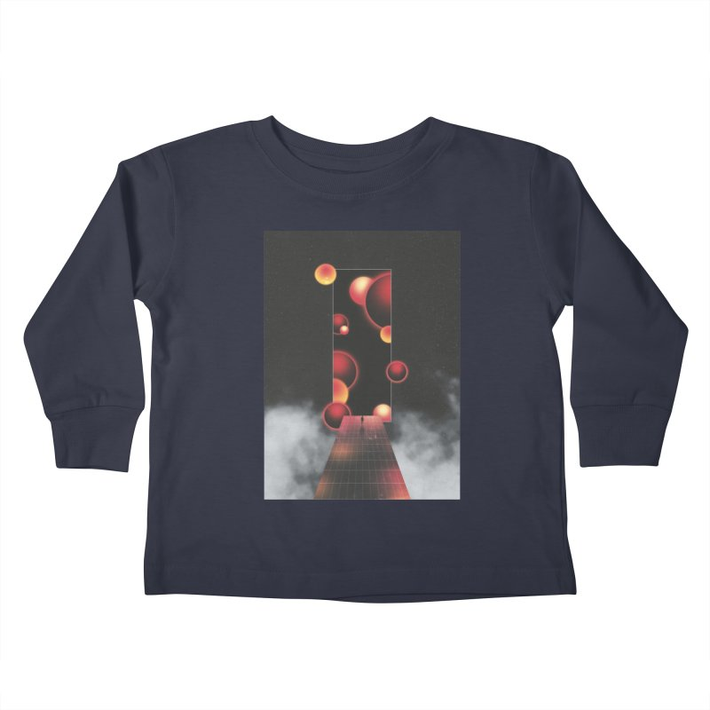 Void Vibes Only Kids Toddler Longsleeve T-Shirt by Adam Priesters Shop