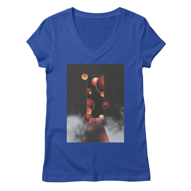 Void Vibes Only Women's Regular V-Neck by Adam Priesters Shop