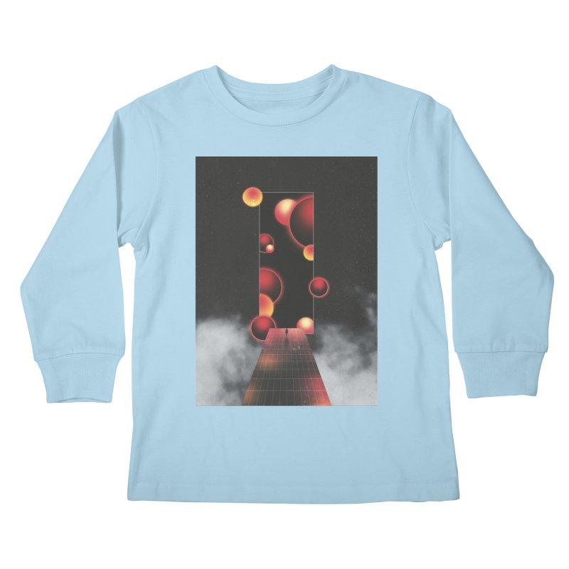 Void Vibes Only Kids Longsleeve T-Shirt by Adam Priesters Shop