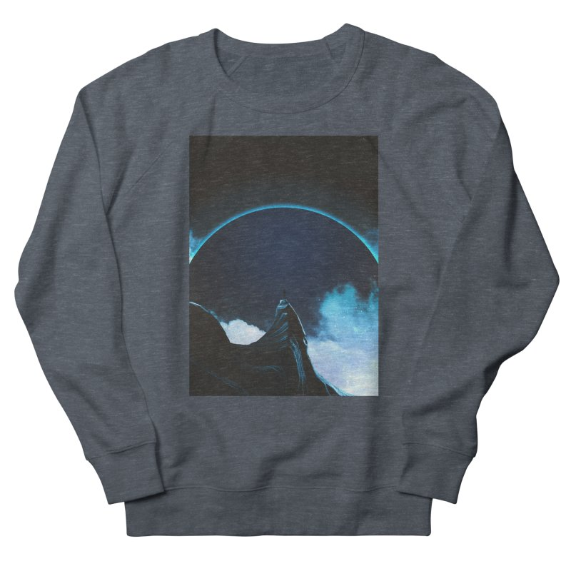 Full Dark Men's French Terry Sweatshirt by Adam Priesters Shop