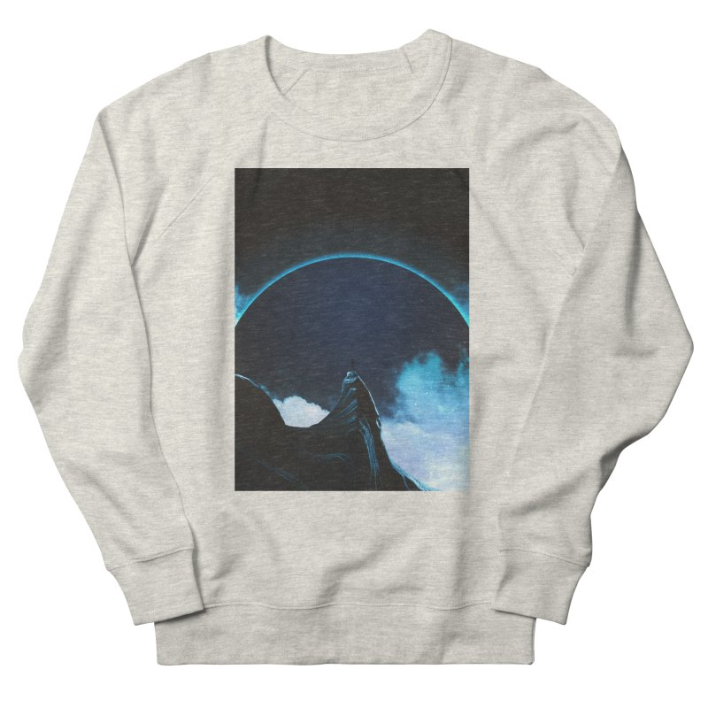 Full Dark Men's French Terry Sweatshirt by Adam Priesters Shop