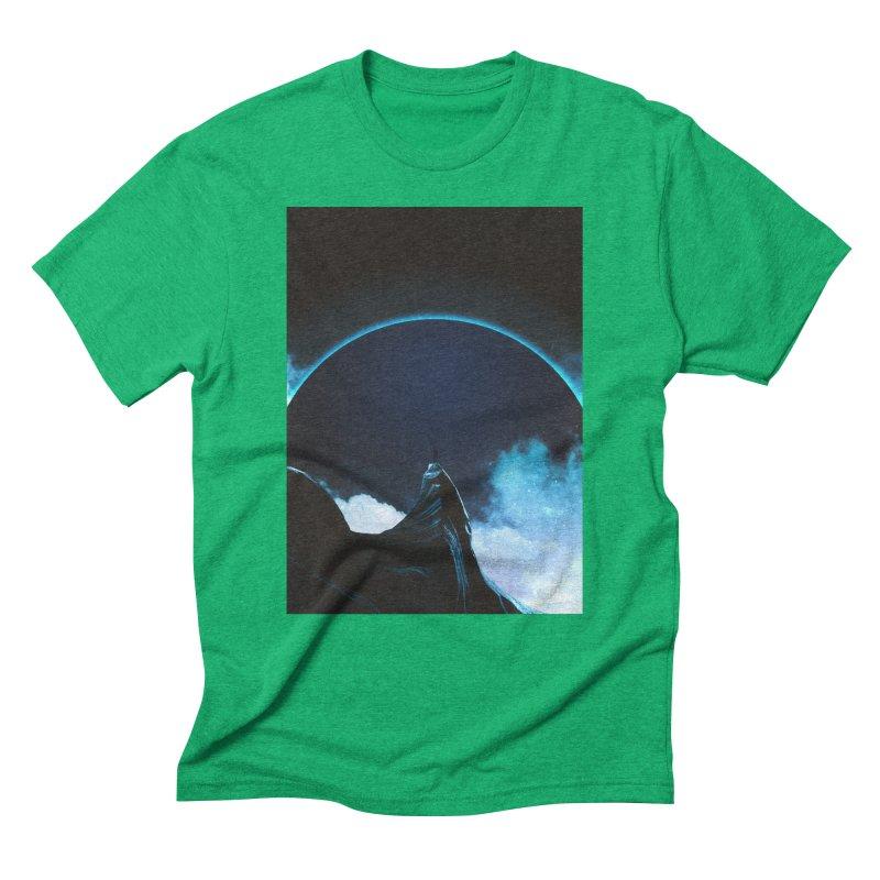 Full Dark Men's Triblend T-Shirt by Adam Priesters Shop