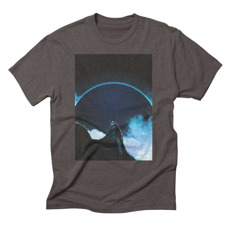 Full Dark Men's Triblend T-Shirt by Adam Priesters Shop
