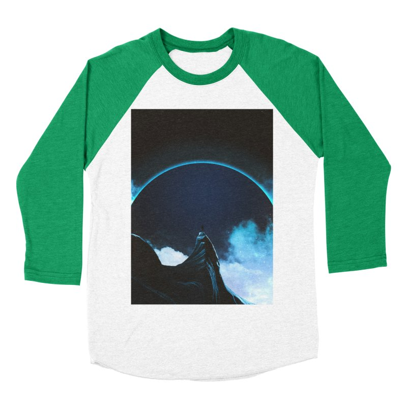 Full Dark Women's Baseball Triblend Longsleeve T-Shirt by Adam Priesters Shop
