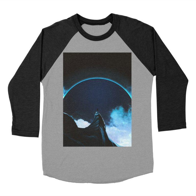 Full Dark Men's Baseball Triblend Longsleeve T-Shirt by Adam Priesters Shop