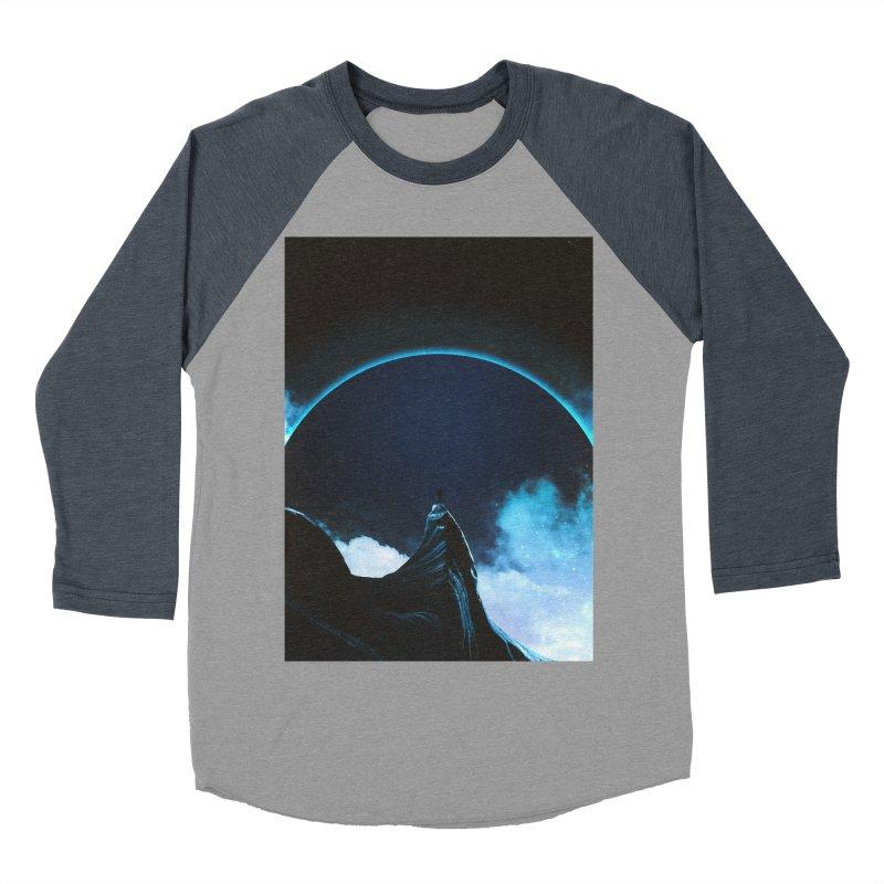 Full Dark Men's Baseball Triblend Longsleeve T-Shirt by Adam Priesters Shop