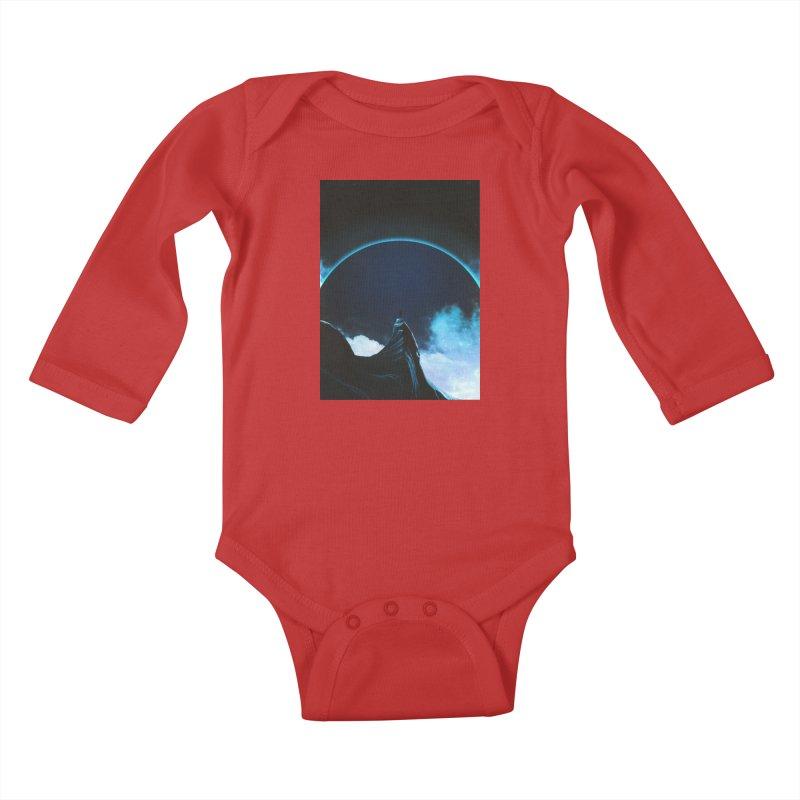 Full Dark Kids Baby Longsleeve Bodysuit by Adam Priesters Shop