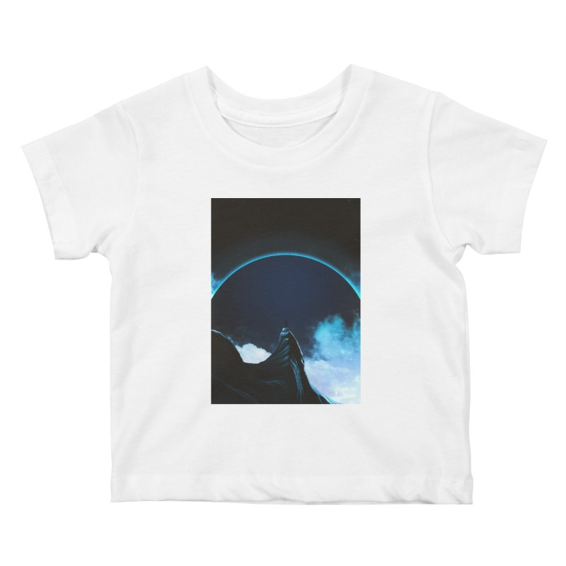Full Dark Kids Baby T-Shirt by Adam Priesters Shop