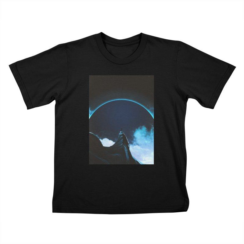 Full Dark Kids T-Shirt by Adam Priesters Shop