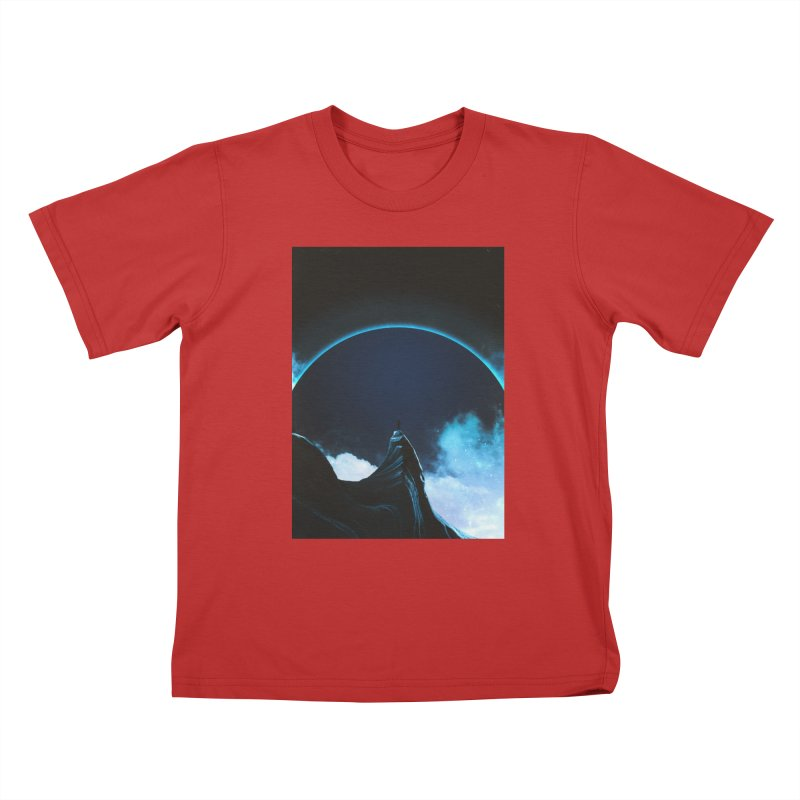 Full Dark Kids T-Shirt by Adam Priesters Shop