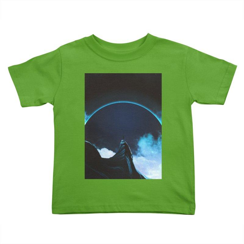 Full Dark Kids Toddler T-Shirt by Adam Priesters Shop