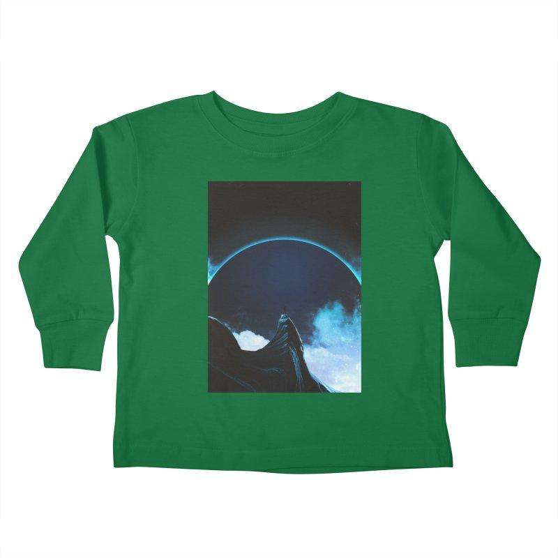 Full Dark Kids Toddler Longsleeve T-Shirt by Adam Priesters Shop