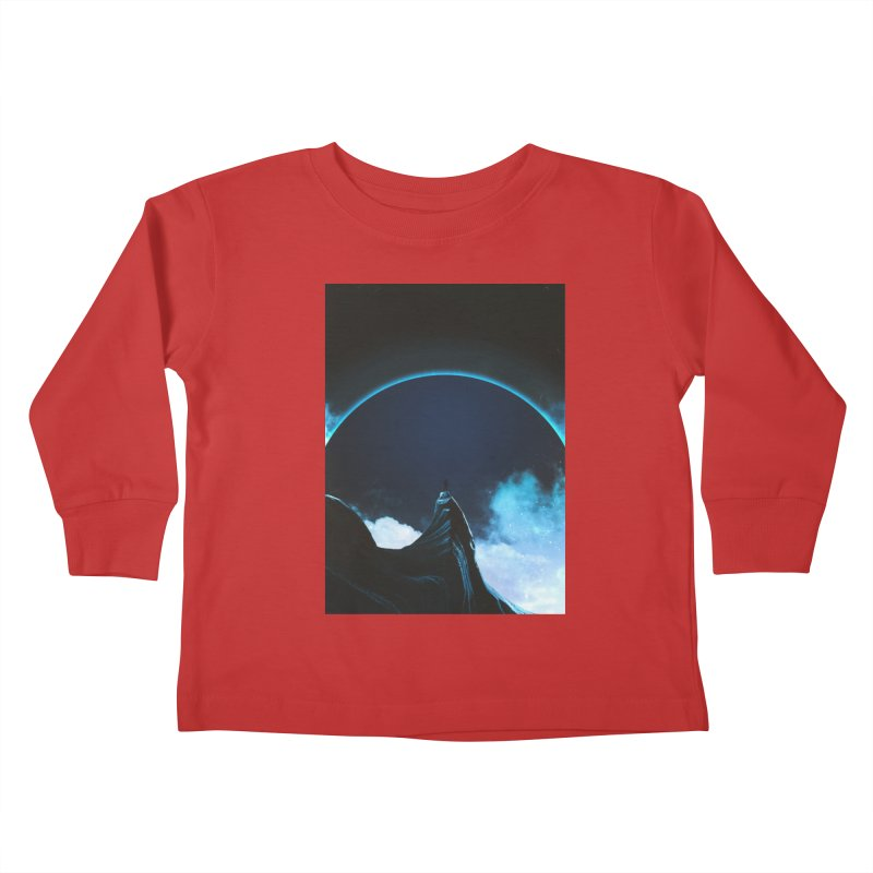 Full Dark Kids Toddler Longsleeve T-Shirt by Adam Priesters Shop