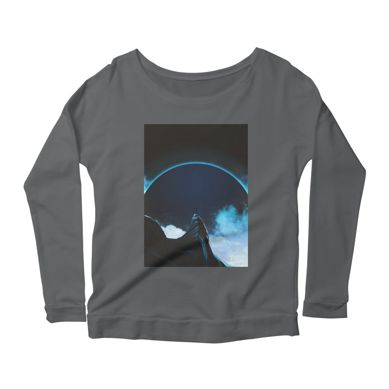Full Dark Women's Scoop Neck Longsleeve T-Shirt by Adam Priesters Shop