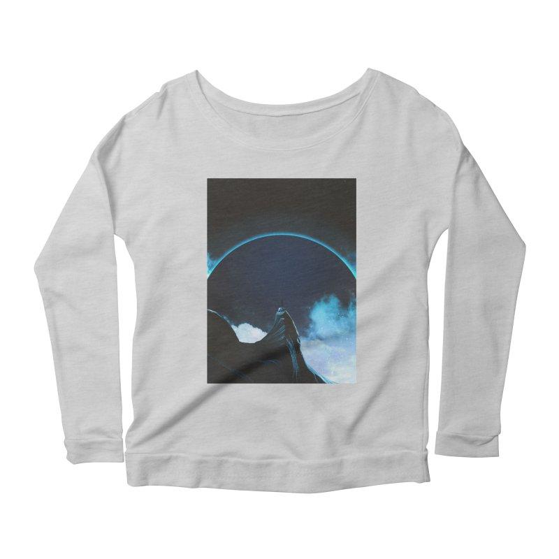 Full Dark Women's Scoop Neck Longsleeve T-Shirt by Adam Priesters Shop
