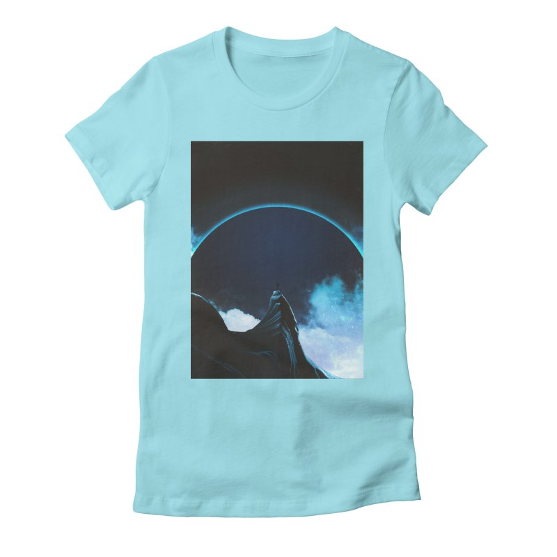 Full Dark Women's Fitted T-Shirt by Adam Priesters Shop