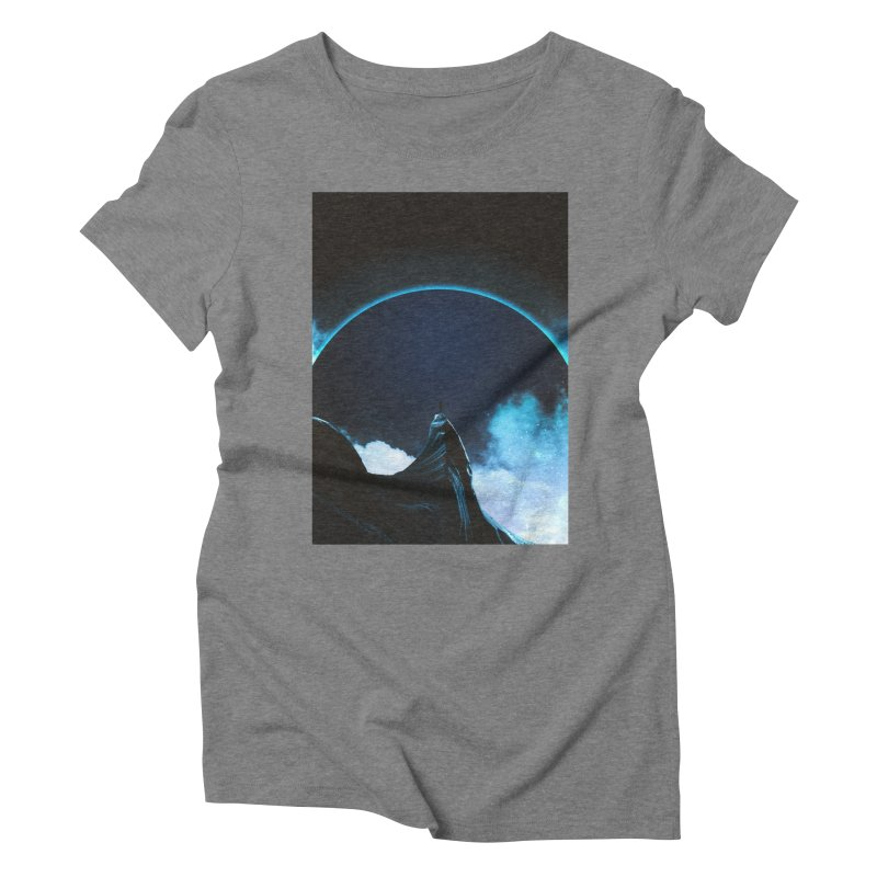 Full Dark Women's Triblend T-Shirt by Adam Priesters Shop