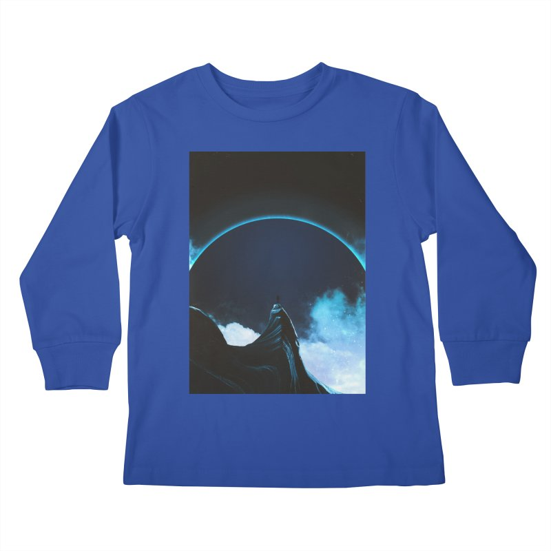 Full Dark Kids Longsleeve T-Shirt by Adam Priesters Shop