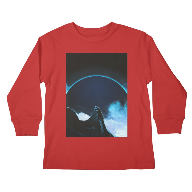 Full Dark Kids Longsleeve T-Shirt by Adam Priesters Shop