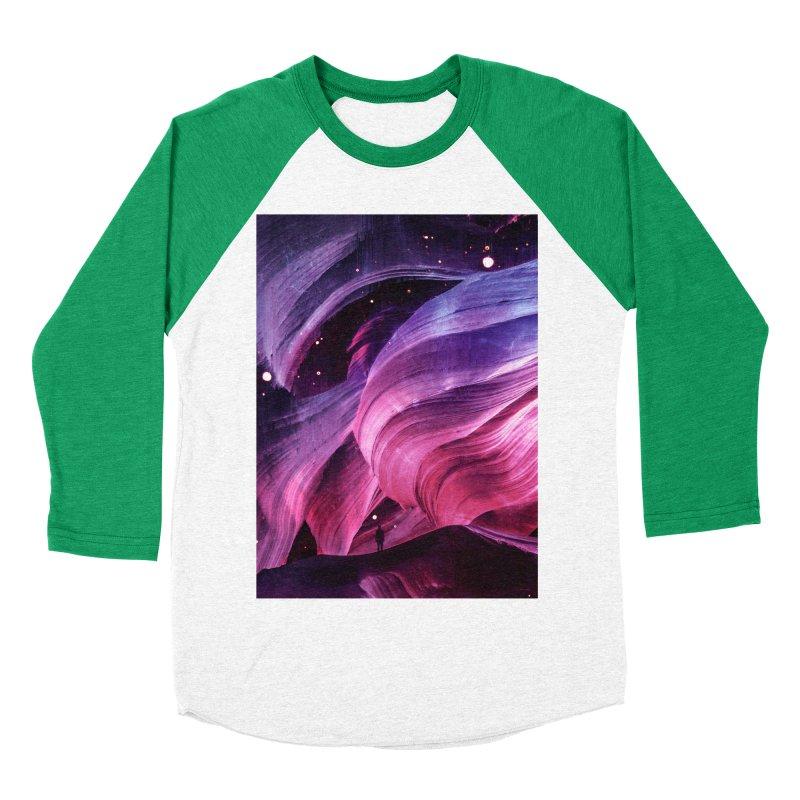 Beneath Men's Baseball Triblend Longsleeve T-Shirt by Adam Priesters Shop