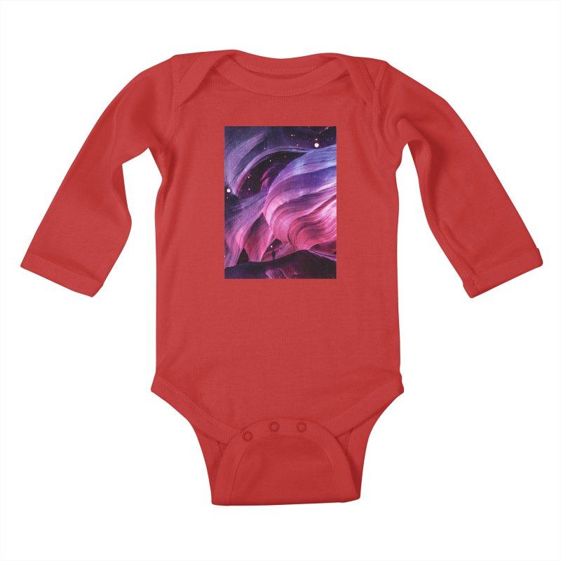 Beneath Kids Baby Longsleeve Bodysuit by Adam Priesters Shop