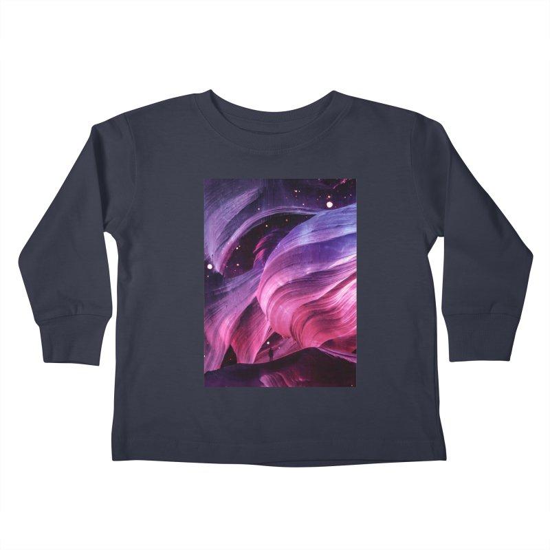 Beneath Kids Toddler Longsleeve T-Shirt by Adam Priesters Shop