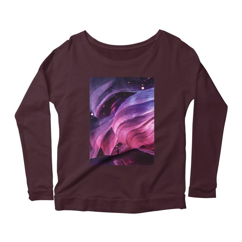 Beneath Women's Scoop Neck Longsleeve T-Shirt by Adam Priesters Shop