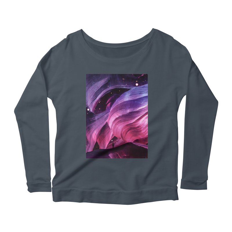 Beneath Women's Scoop Neck Longsleeve T-Shirt by Adam Priesters Shop