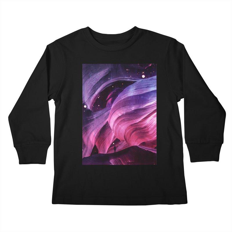 Beneath Kids Longsleeve T-Shirt by Adam Priesters Shop