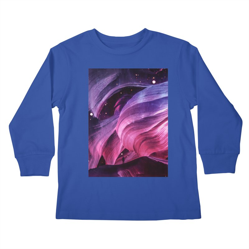 Beneath Kids Longsleeve T-Shirt by Adam Priesters Shop