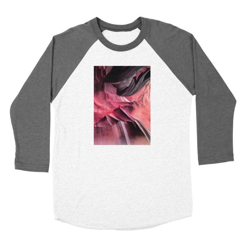 Return to a place never seen / Red Women's Longsleeve T-Shirt by Adam Priesters Shop