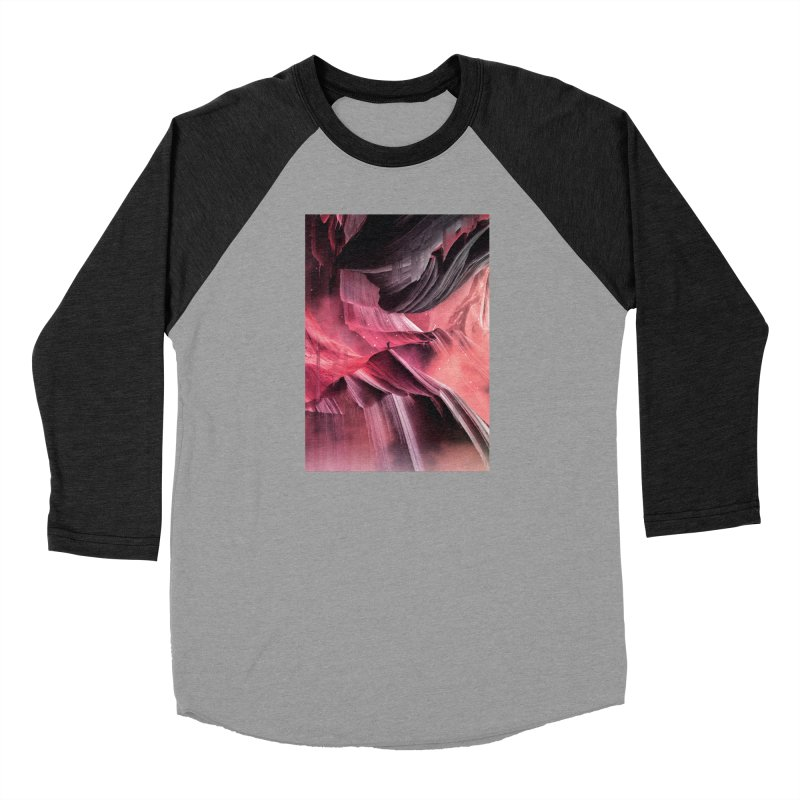 Return to a place never seen / Red Men's Longsleeve T-Shirt by Adam Priesters Shop