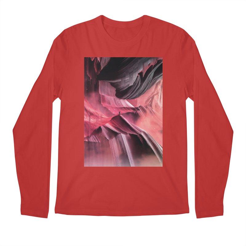 Return to a place never seen / Red Men's Regular Longsleeve T-Shirt by Adam Priesters Shop