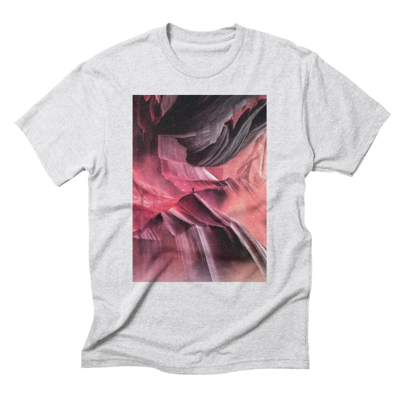 Return to a place never seen / Red Men's T-Shirt by Adam Priesters Shop