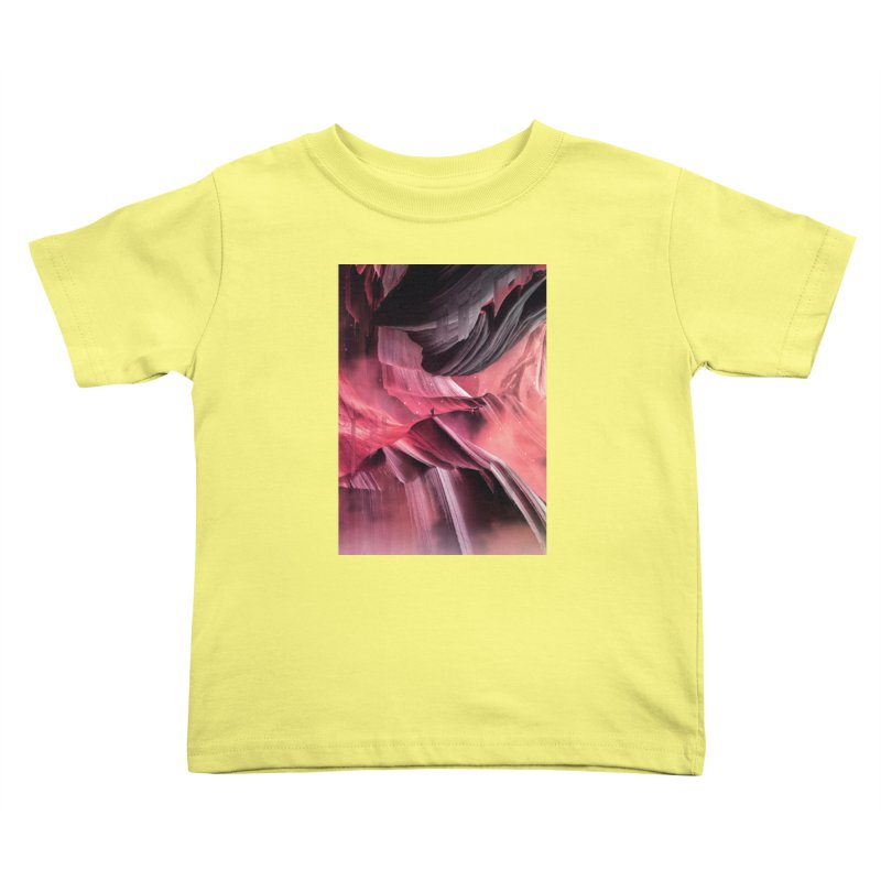 Return to a place never seen / Red Kids Toddler T-Shirt by Adam Priesters Shop