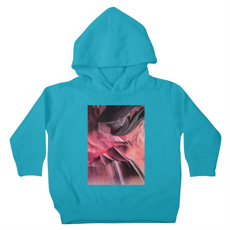 Return to a place never seen / Red Kids Toddler Pullover Hoody by Adam Priesters Shop