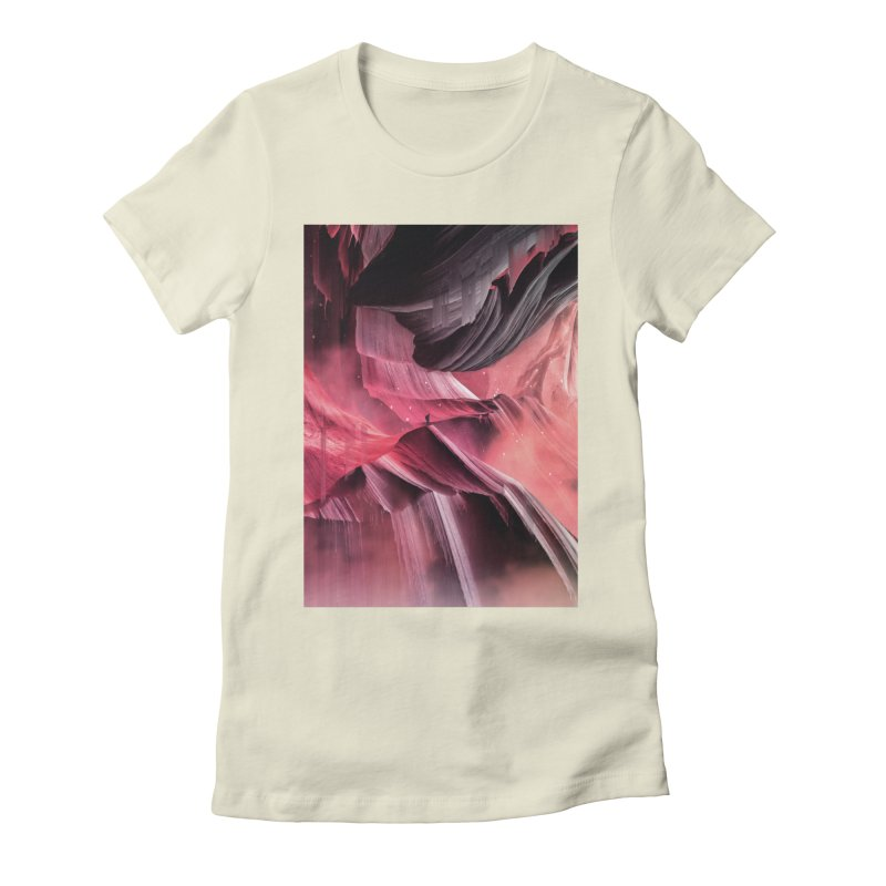 Return to a place never seen / Red Women's T-Shirt by Adam Priesters Shop