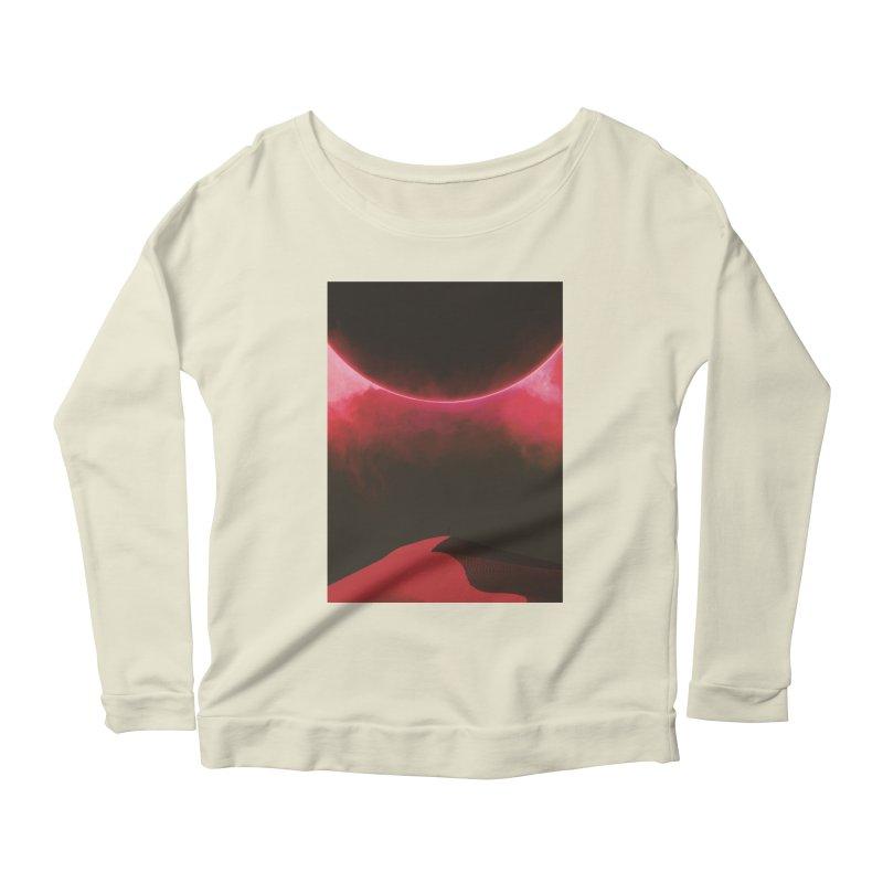 Second Sundown Women's Scoop Neck Longsleeve T-Shirt by Adam Priesters Shop