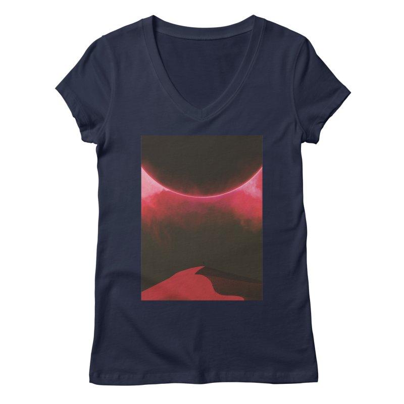 Second Sundown Women's V-Neck by Adam Priesters Shop