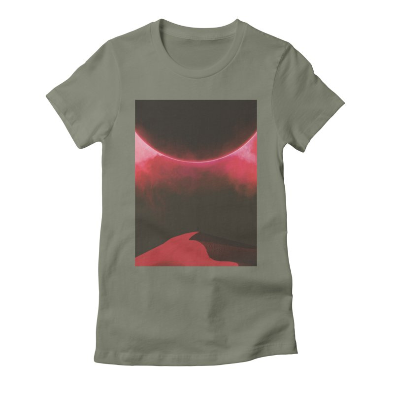 Second Sundown Women's Fitted T-Shirt by Adam Priesters Shop