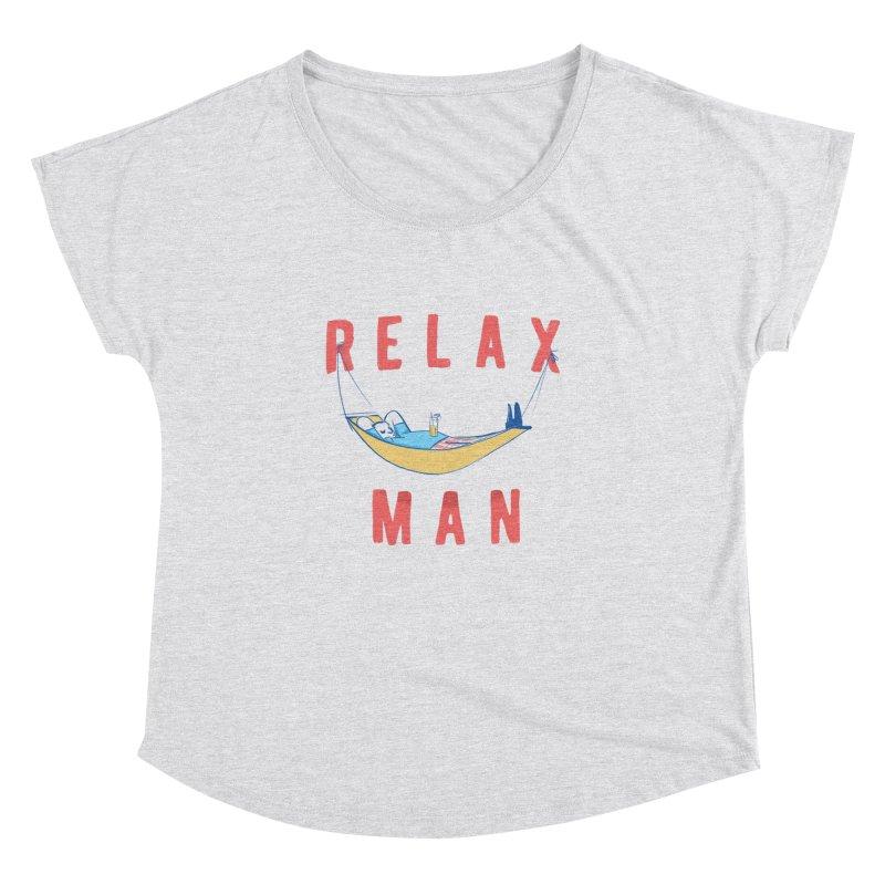 Relax Man Women's Dolman by adamrajcevich's Artist Shop